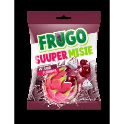 Želejas konfektes ar Frugo Super garšu  BLACK, 90 g