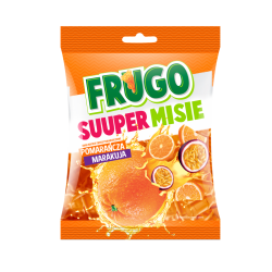 Želejas konfektes Ultra ORANGE Frugo, 90 g