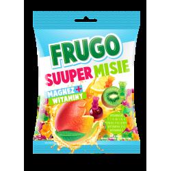 Želejas konfektes Frugo Ultra MIX+ Vitamīni un Magnijs, 90 g