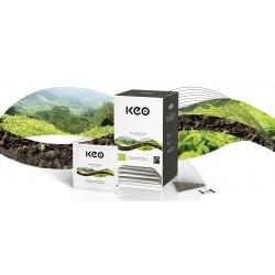 Tēja КЕО Darjeeling pirmā ievākuma BIO/FT piramīdas.