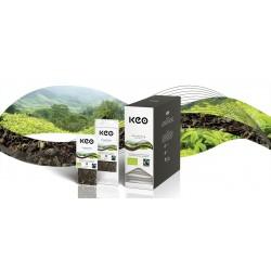 Tēja КЕО Darjeeling pirmā ievākuma BIO/FT tējas stipruma kanniņai.
