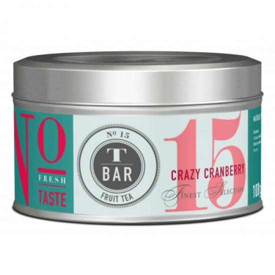 """Tēja trakā dzērvene """"Crazy Cranberry"""", 120 g."""