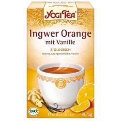 """Yogi tēja """"Ingvera apelsīns ar vaniļu"""" - BIO"""