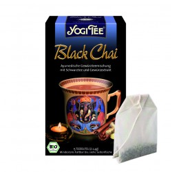 """Yogi tēja """"Melnā tēja"""" - BIO"""