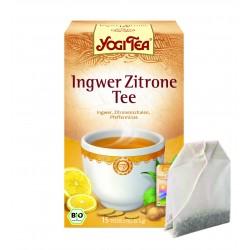 """Yogi tēja """"Ingvera citrons"""" - BIO"""