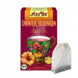 """Yogi tēja """"Ingvera hibiscus"""" - BIO"""